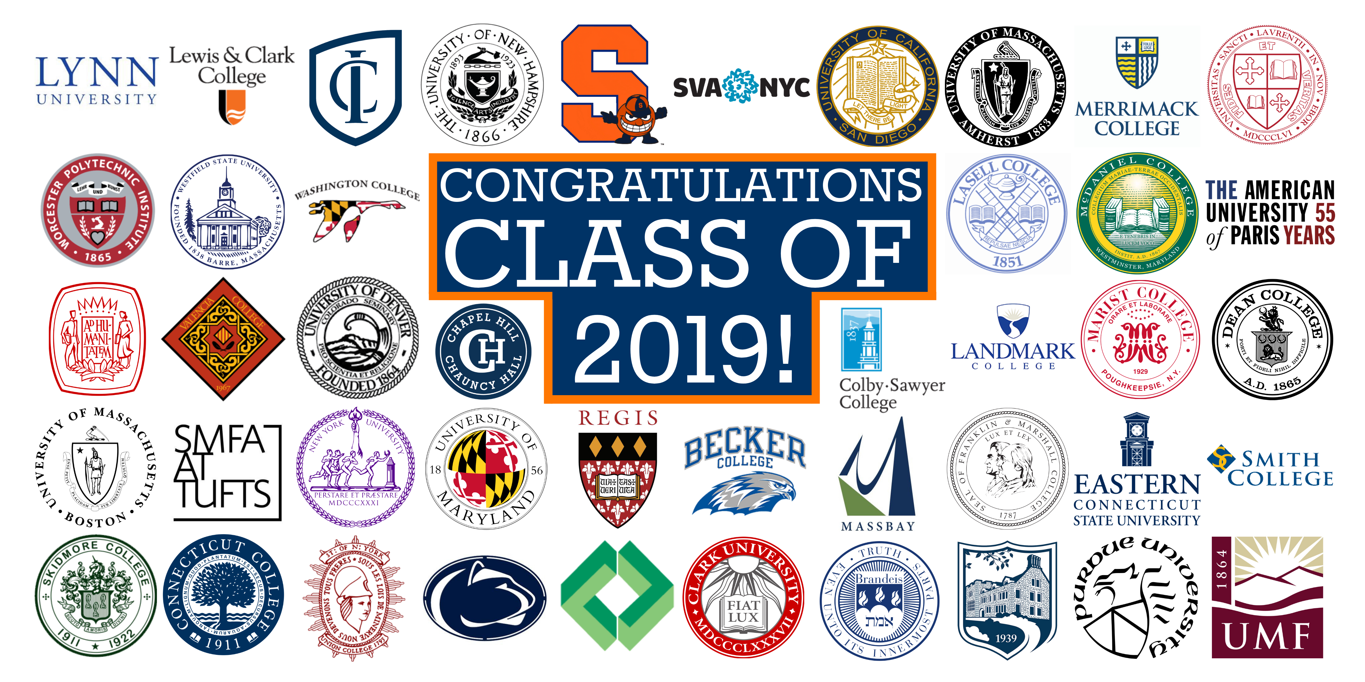 Class of 2019 College Banner UPDATED 5.8.19