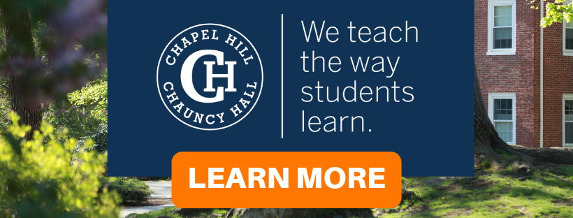 Chapel Hill-Chauncy Hall School Teaches the Way Students Learn - Learn More Here
