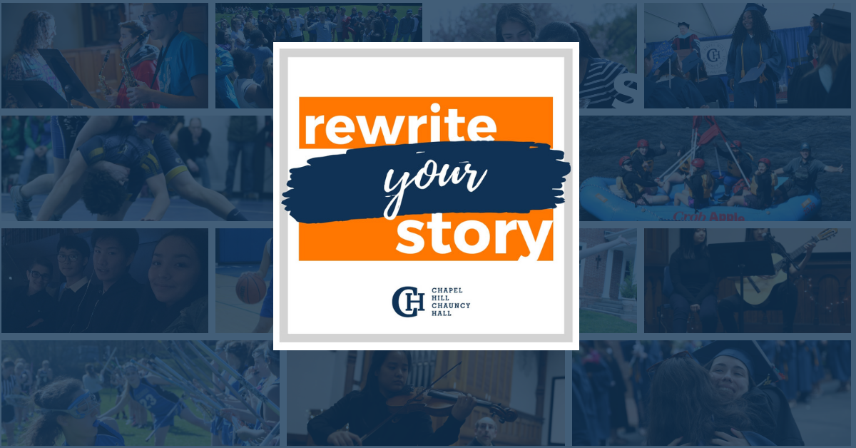 Rewrite Your Story Blog Banner Chapel Hill Chauncy Hall